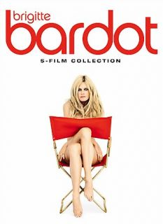 Brigitte Bardot Box Set DVD, 2007, Multidisc Set