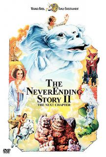 The Neverending Story II 2: The Next Chapter (DVD, 2001)