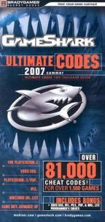 Gameshark Ultimate Codes 2 by Brady Games Staff 2007, Paperback