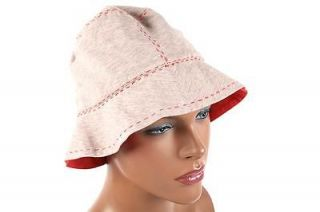 BRUNELLO CUCINELLI WOMENS COTTON HAT 5R40X69 PINK