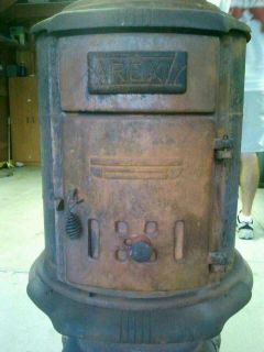 Pot belly stove Rex local pick up chicago