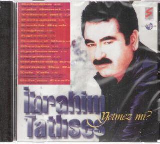 IBRAHIM TATLISES: Yetmez mi?, Pala Remzi ~ Turkish CD