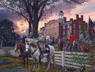 Sunrise Strategy John Paul Strain Newest Civil War Print