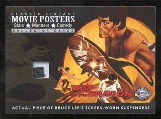 Classic Poster VL1 Bruce Lee Green Hornet Kato Costume Card