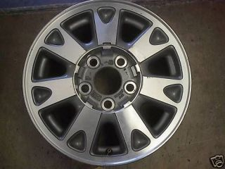 1998 98 S10 S15 Blazer Jimmy Alloy Wheel Rim 15 4X4 OE