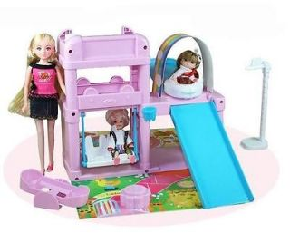 girl doll simulation play house toys children birthday gifts