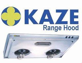 KAZE 30 inch Stainless Steel Under Cabinet Range Hood