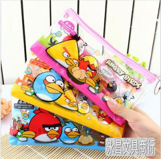 in 1,Angry Bird Pencil Case Bag/Box Party Favor School Stationery