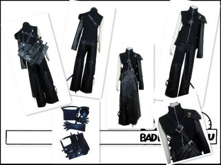 Final Fantasy 7 FF7 Cloud cosplay costume Armor & Sheath include