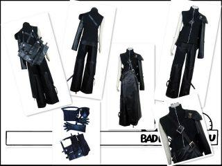 Final Fantasy 7 FF7 Cloud cosplay costume Armor & Sheath include