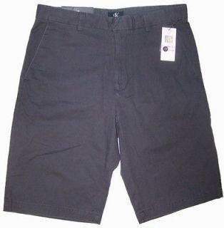 Calvin Klein Mens Shorts Fatigue Lifestyle Gray 302 NWT