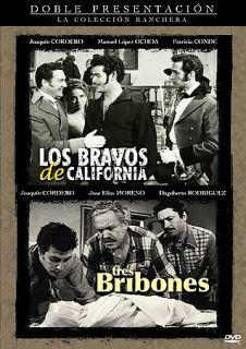 Los Bravos de California Tres Bribones DVD, 2008, La Coleccion