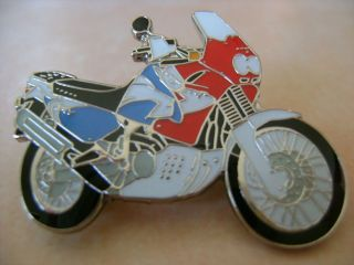 Honda Africa Twin 750 Red White and Blue Hat Pin Lapel Pin