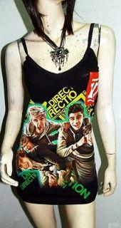 One Direction Metal Punk rock DIY Sexy Cami Tunic Dress/Top Shirt