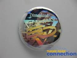 Disney Vintage 1986 Michael Jackson CAPTAIN EO Disneyland Button Pin