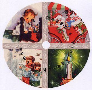 Vintage Christmas Greeting Cards CD V. 14 NEW ITEM