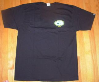 PEARL JAM Black Shirt PJ20 2011 Green Bay Packers Style many sizes