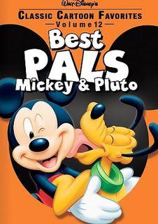 Classic Cartoon Favorites   Best Pals Mickey Pluto   Vol. 12 DVD, 2006
