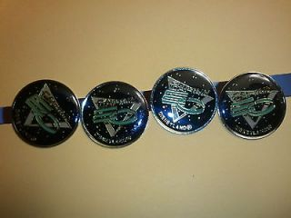1986 Michael Jackson, Captain EO Disney Pin group of four pins