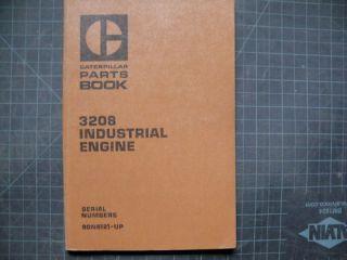 CAT Caterpillar 3208 Industrial Engine Parts Manual book catalog spare