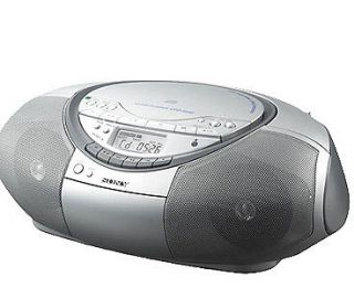 Sony CFD S350SILVER CD and Radio Player and Cassette Player/Recorder
