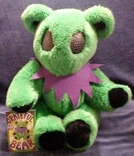 HTF LE 12 GRATEFUL DEAD FULLY POSEABLE ALIEN BEAR WITH HANGTAG