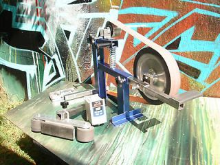 2X72 BELT GRINDER /SANDER 1 HP & variable speed drive