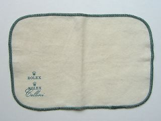 VINTAGE ROLEX CELLINI POLISHING & CLEANING CLOTH AUTHENTIC NEW UNUSED
