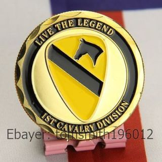 Army 1st Cavalry Division / Military Challenge Coin 379