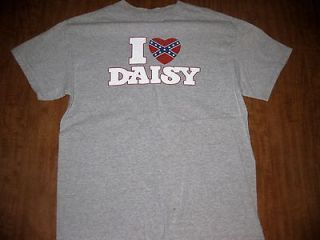 DUKES OF HAZZARD medium T shirt I Love Daisy old school Catherine Bach
