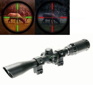 Center Point AR22 3 9x32 Mil Dot R/G Air Rifle Scope