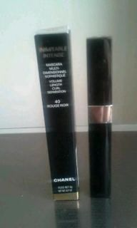 CHANEL INIMITABLE INTENSE MASCARA 40 ROUGE NOIR NEW IN BOX 100%