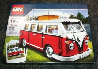 Lego Creator VW Volkswagen Camper Van   10220   Great Set!