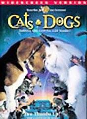 Cats Dogs DVD, 2001, Widescreen