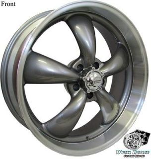 22 STAGGERED GRAY REV CLASSIC WHEELS CHEVY TRUCK 1967 1968 1969 1970