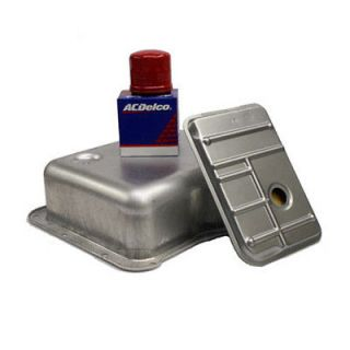 Genuine Allison Deep Transmission Pan w/ Filters Kit Chevy Duramax