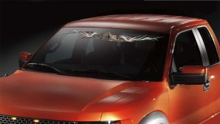 Camo WILD OAK Truck Vehicle Auto Front Windshield Vinyl Graphics Decal
