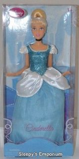DISNEY PRINCESS CINDERELLA BARBIE DOLL 12 BRAND NEW IN BOX
