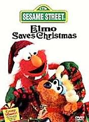 Sesame Street   Elmo Saves Christmas DVD, 1997