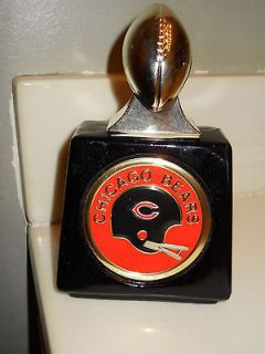 CHICAGO BEARS NFL FOOTBALL AVON DECANTER BOTTLE