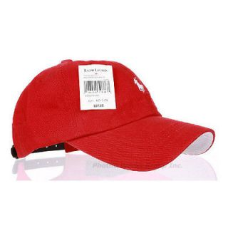 Polo Casual Outdoor Golf Sports Classic Baseball Ball Cap Hat Red