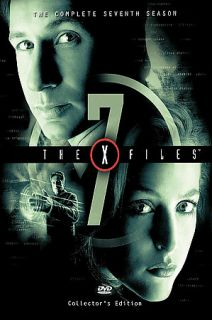 The X Files   The Complete Seventh Season DVD, 6 Disc Set, Repackaged