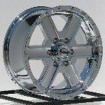 Chrome Wheels Rims Chevy Express Avalanche GMC Savanah Van 1500 6 Lug