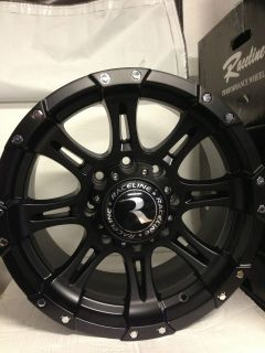 Raceline Raptor Wheels Rims Chevrolet Silverado 2500 HD GMC 8x6.5