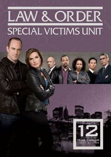 Law Order Special Victims Unit   Year Twelve DVD, 2011, 5 Disc Set