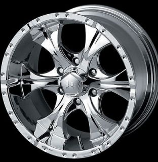 DODGE FORD CHEVY WHEELS RIMS 16 CHROME HELO MAXX 8 NEW