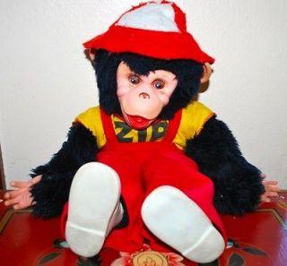 Zippy Zip The Monkey Chimp Vintage Rushton Co. Howdy Doody 15