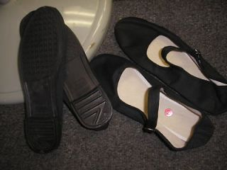 BLACK MARY JANE CHINESE SHOES SLIPPERS 34