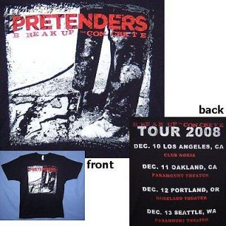 pretenders t shirt in Clothing, Shoes & Accessories