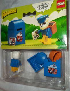 1982 LEGO #3786 BUZZY BULLDOG MAIL MAN MIP ♥ VINTAGE FABULAND